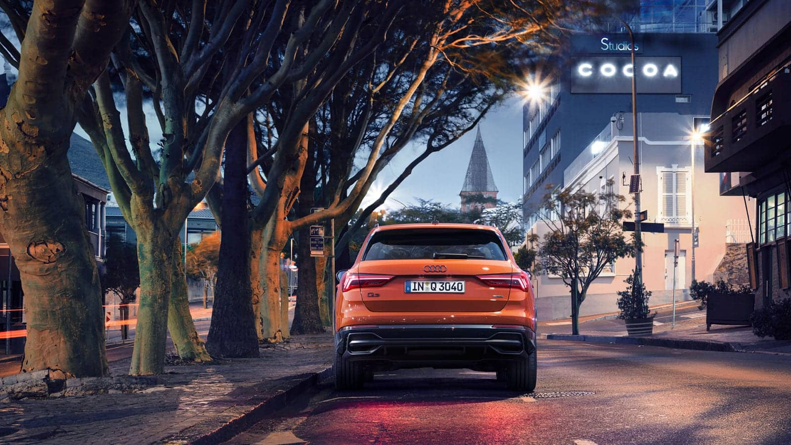 Even more sportiness. the Audi Q3 special edition