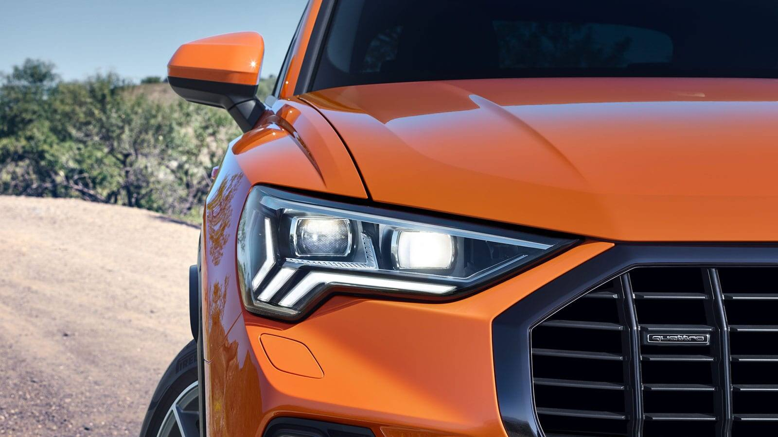 Lighting Technology. The new Audi Q3